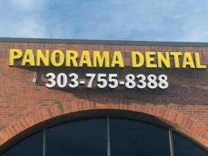 Panorama Dental Sign in Aurora CO